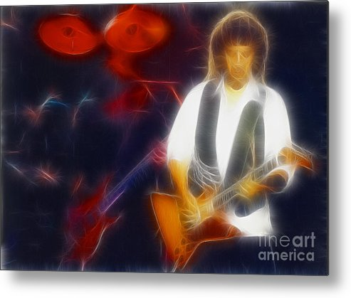 Abstract Metal Print featuring the photograph 38 Special-94-jeff-gb7a-fr by Gary Gingrich Galleries
