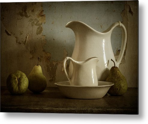 Pear Metal Print featuring the photograph A Simpler Time by Amy Weiss