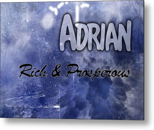 Pacific Metal Print featuring the painting Adrian - Rich And Prosperous by Christopher Gaston