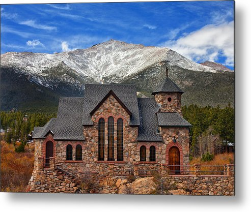 Colorado Landscapes Metal Print featuring the photograph Afternoon Mass by Darren White