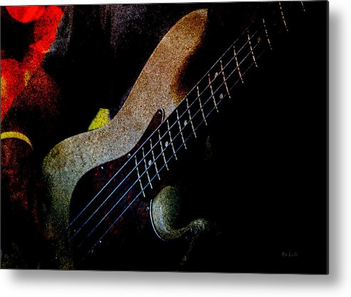 Bass Metal Print featuring the photograph Bass Guitar by Bob Orsillo