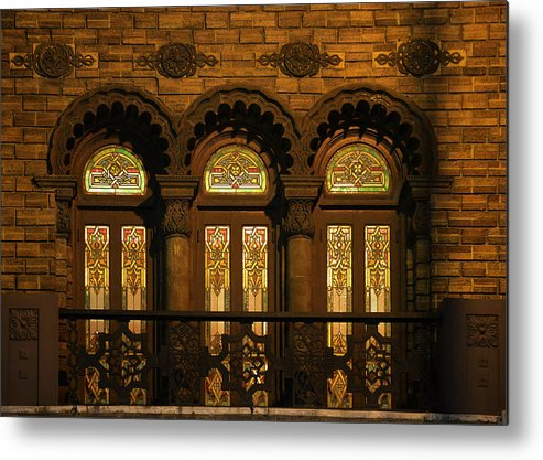 Shriners Metal Print featuring the photograph Bloomingdale's At Home In Chicago's Medinah Temple by Christine Till