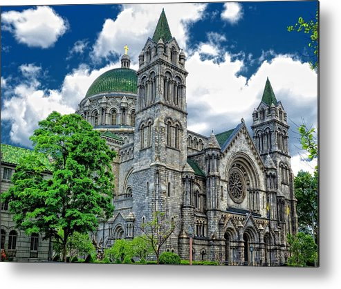 Chapel Metal Print featuring the photograph Church In St. Louis by Igor Aleynikov