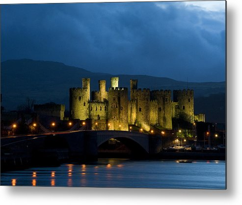 Castle Metal Print featuring the photograph Conway Castle by Jeff Dalton