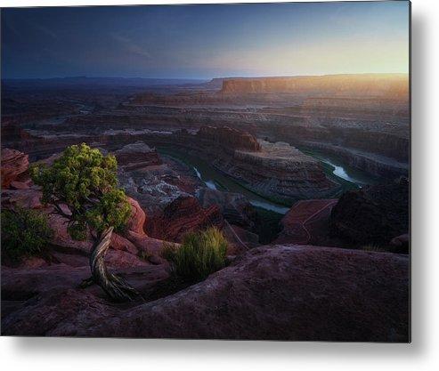 Utah Metal Print featuring the photograph Deadhorse Land by Juan Pablo De
