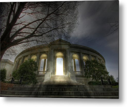 Arlington National Cemetery Metal Print featuring the photograph Eternal Life by Lori Deiter