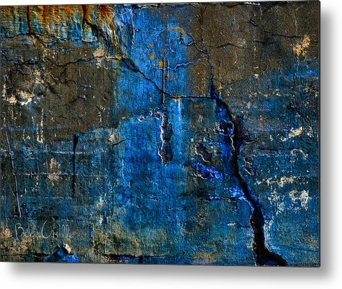 Industrial Metal Print featuring the photograph Foundation Three by Bob Orsillo