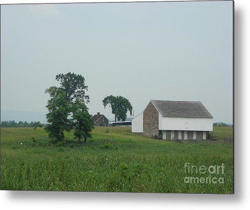 Gettysburg Metal Print featuring the photograph Gettysburg First Shot Fired by Snapshot Studio