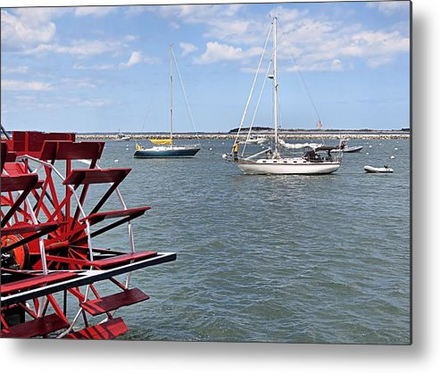 Harbor Metal Print featuring the photograph Harbor View by Janice Drew