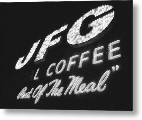 Jfg Metal Print featuring the photograph Jfg Sepia by Matthew Johnson
