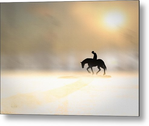 Dreamscape Metal Print featuring the photograph Long Ride Home by Bob Orsillo
