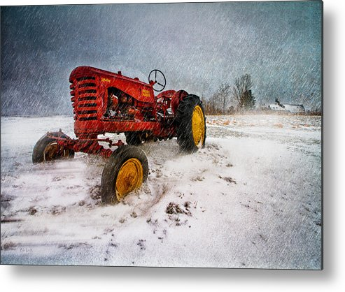 Transportation Metal Print featuring the photograph Massey Harris Mustang by Bob Orsillo