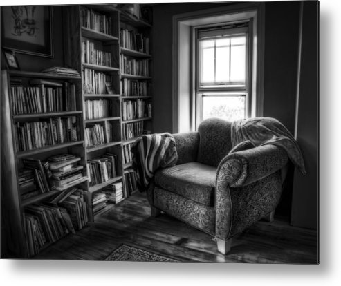 Library Metal Print featuring the photograph Sanctuary by Scott Norris