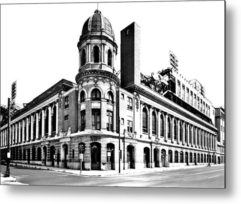 Shibe Metal Print featuring the photograph Shibe Park by Benjamin Yeager