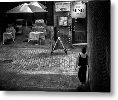People Metal Print featuring the photograph Something For Your Mind by Bob Orsillo