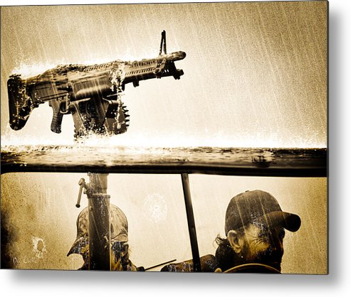 Adventure Metal Print featuring the photograph Strange Days by Bob Orsillo