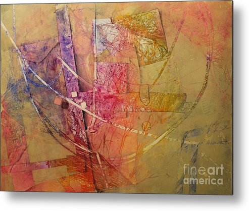 Metal Print featuring the painting Symphony I by Elizabeth Carr