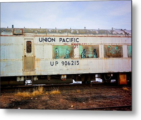 Evanston Metal Print featuring the photograph The Roundhouse Evanston Wyoming Dining Car - 5 by Ely Arsha