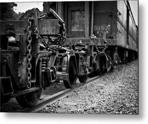 Train Metal Print featuring the photograph Trains 18 by Niels Nielsen