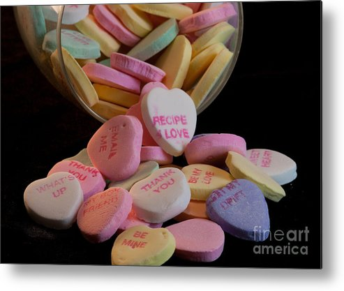 Valentine Metal Print featuring the photograph Valentine Candy 5 by Sandra Clark