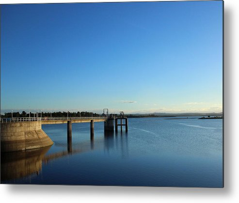 Lake Metal Print featuring the photograph Walkway On The Water by Gonzalo Martinez