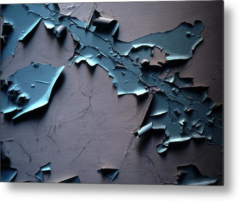 Aged Metal Print featuring the photograph Watching Paint Dry by Tom Wurl