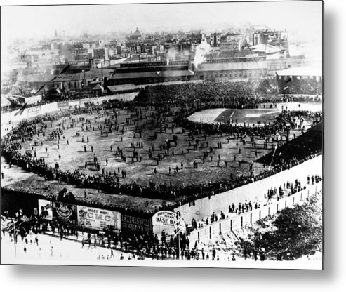 1903 Metal Print featuring the photograph World Series, 1903 by Granger
