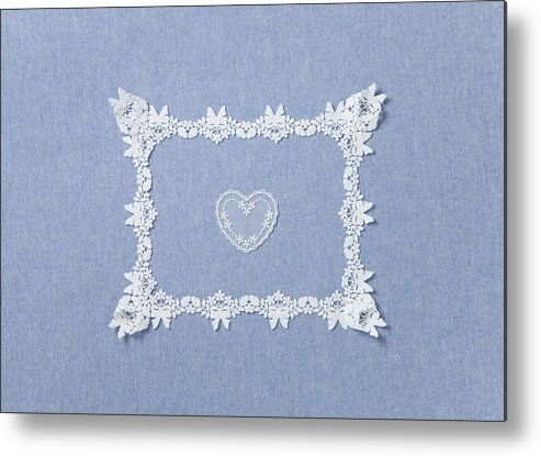 Horizontal Metal Print featuring the photograph Lace by sozaijiten/Datacraft