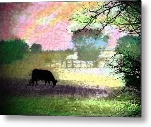 Metal Print featuring the photograph Bucolic by David Carter