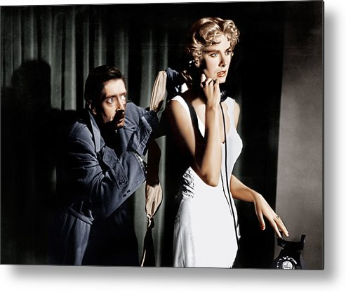 1950s Movies Metal Print featuring the photograph Dial M For Murder, From Left Anthony by Everett