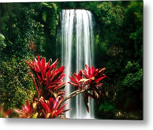 Waterfall Metal Print featuring the photograph Elixir Of Life by HweeYen Ong