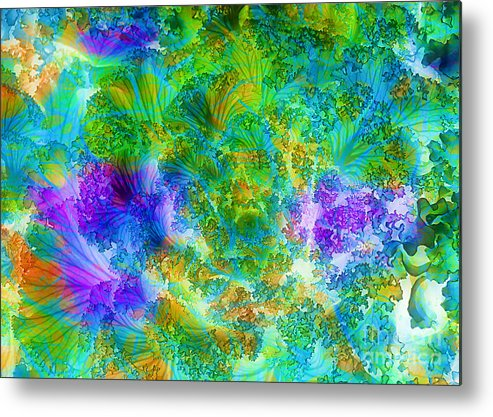 Cabbage Metal Print featuring the photograph In The Cabbage Patch by Judi Bagwell