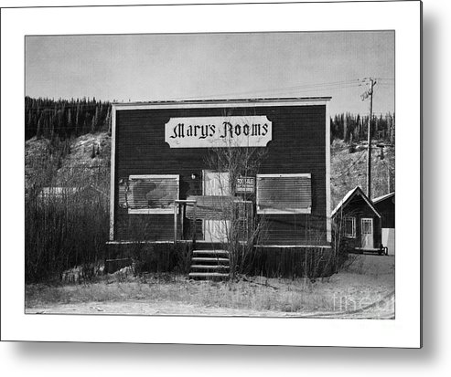 Old Metal Print featuring the photograph Mary's Rooms by Priska Wettstein