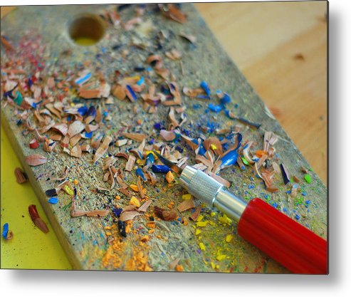 Tools Of The Trade Metal Print featuring the photograph Tools Of The Trade by Lisa Phillips