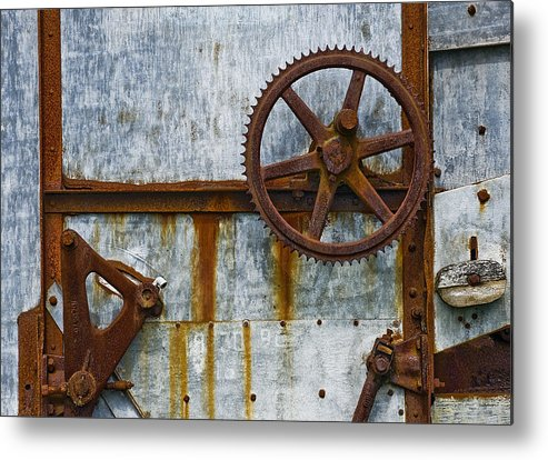 Still Life Metal Print featuring the photograph Vintage.9264 by Gary LaComa