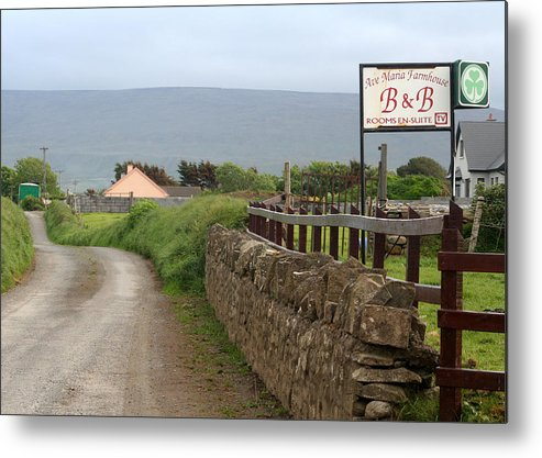 Ireland Metal Print featuring the photograph Ave Maria Bed And Breakfast by Beverlee Singer