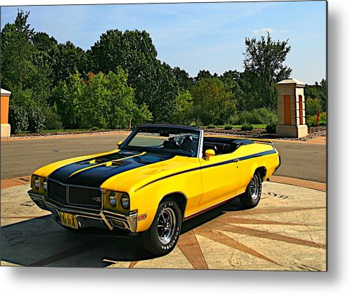 Car Metal Print featuring the photograph Buick Gsx by Robert Pearson
