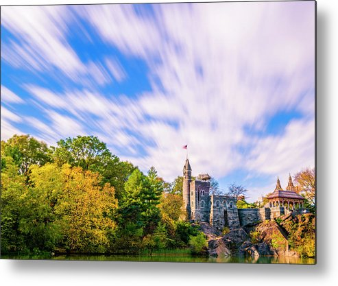 Central Park Metal Print featuring the photograph Central Park, New York by Tetyana Ohare