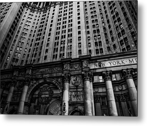 New York City Metal Print featuring the photograph Nyc Buildings by Patrick Flynn