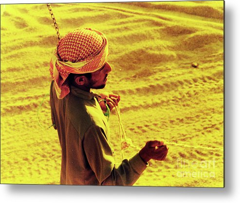 Egypt Metal Print featuring the photograph Bedouin Guide by Elizabeth Hoskinson