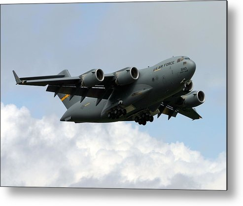 C-17 Metal Print featuring the photograph C-17 Globemaster IIi by Camm Kirk