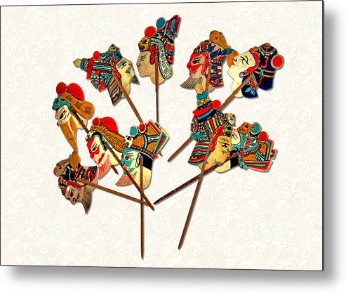 Whimsy Metal Print featuring the photograph China - Land Of Many Faces by Christine Till