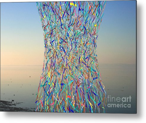 Bay Metal Print featuring the photograph Color Explosion by Andy Mercer