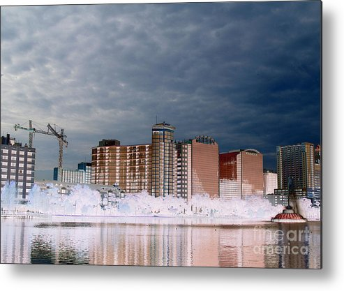 Computer Metal Print featuring the photograph Fifth Demensional Orlando Fl by Jack Norton