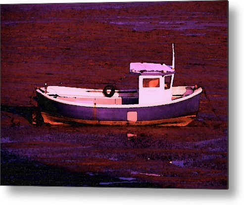 Landscape Metal Print featuring the digital art High And Dry by Stuart Parnell