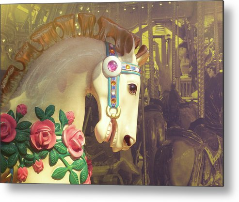 Horse Metal Print featuring the photograph Joy Rider by JAMART Photography