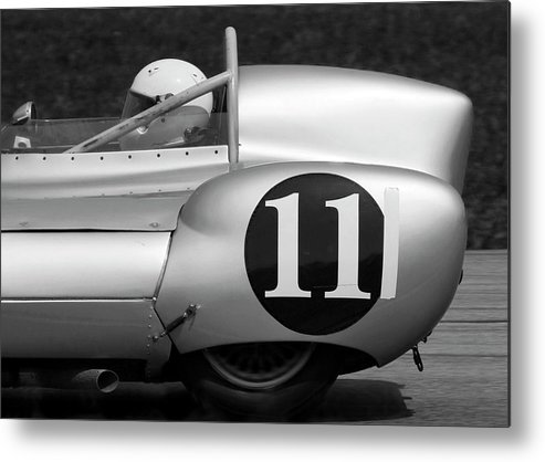 Lotus Metal Print featuring the photograph Lotus 1 Eleven by Alan Raasch