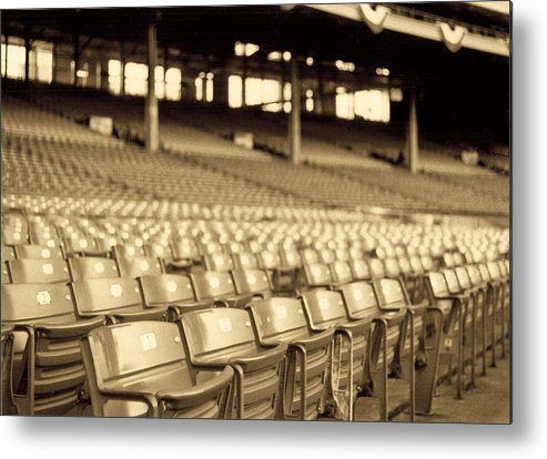 Cleveland Metal Print featuring the photograph No Games Left To See by Kenneth Krolikowski