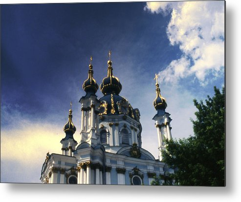 Church Metal Print featuring the photograph Palace by Wes Shinn