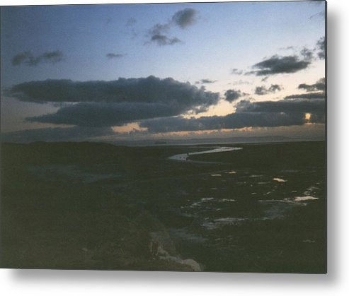 Sky Metal Print featuring the photograph River To The Sea by Catt Kyriacou